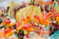 Casse-croûte de fruit images libres de droits