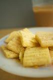 Casse-croûte de maïs Photos stock