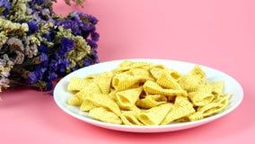Casse-croûte de maïs Images libres de droits