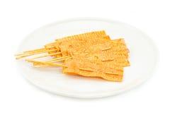 Casse-croûte de poissons Image stock