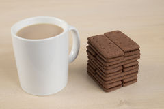 Casse-croûte de temps de thé Photos libres de droits