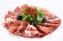 Casse-croûte de viande Photographie stock libre de droits