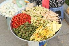Casse-croûte du Cambodge Images stock