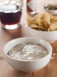 Casse-croûte et sauce Images stock