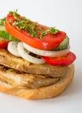 Casse-croûte-sandwich Image libre de droits