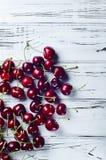 Casse-croûte savoureux et sain Berry Cherry avec des vitamines Photographie stock