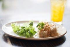 Casse-croûte thaïlandais de boulette Images stock