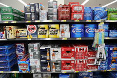 Casse di birra fotografia stock libera da diritti