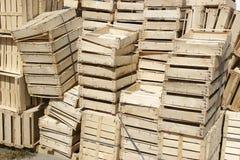 Casse di legno Immagini Stock Libere da Diritti