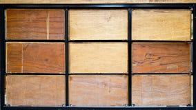 Casse di legno Immagine Stock