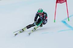CASSE Mattia (ITA). Alta Badia, ITALY 22 December 2013. CASSE Mattia (ITA) competing in the Audi FIS Alpine Skiing World Cup MEN'S GIANT SLALOM Royalty Free Stock Image