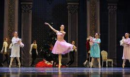 Casse-noix de Clara et de ballet d'amis-Le Image stock