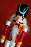 Casse-noix de Noël Images libres de droits