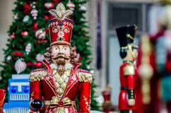 Casse-noix de temps de Noël photo stock