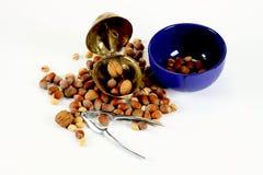 Casse-noix en acier Photos libres de droits