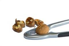 Casse-noix et noix Photographie stock libre de droits