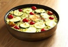 casserole ακατέργαστο λαχανικό Στοκ εικόνα με δικαίωμα ελεύθερης χρήσης