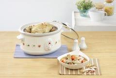 casserole ηλεκτρικό δοχείο Στοκ Φωτογραφία