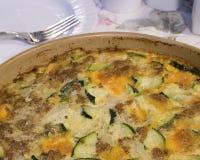 casserole κολοκύθια Στοκ Εικόνες