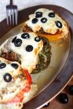 casserole πιπέρι Στοκ φωτογραφίες με δικαίωμα ελεύθερης χρήσης