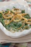 casserole φασολιών πράσινο Στοκ Εικόνες