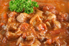 casserole говядины предпосылки Стоковые Изображения