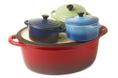With the casserole Royalty Free Stock Photo