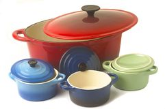 With the casserole Royalty Free Stock Images