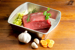 Casserole with beef Royalty Free Stock Photography