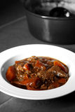 Casserole beef abstract Royalty Free Stock Images