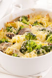Casserole with broccoli Stock Image