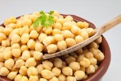 Casserole of chick-peas Stock Image