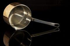 Casserole de cuivre Image libre de droits