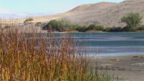 Casserole de l'Idaho 40 de dunes de sable de Bruneau à travers clips vidéos