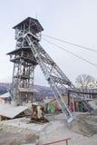 Casserole de sel de Slanic Prahova - ascenseur Photo stock