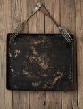 Casserole en métal et fourchette de vintage Photographie stock libre de droits