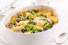 Casserole iwth broccoli Royalty Free Stock Photography