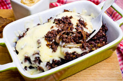 Casserole made for black pudding Royalty Free Stock Image