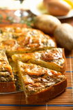 Casserole Made From Potatoes Stock Photo