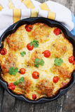 Casserole in a pan Royalty Free Stock Photos