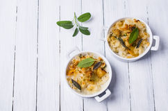 Casserole with pasta Royalty Free Stock Image