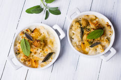 Casserole with pasta Royalty Free Stock Photography