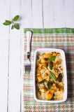 Casserole with pasta Royalty Free Stock Photos