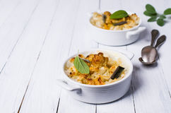 Casserole with pasta Royalty Free Stock Images