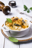 Casserole with pasta Stock Images
