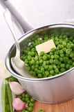 Casserole with pea Stock Photo