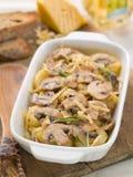 Casserole with potato and mushroom Royalty Free Stock Photos