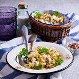 Casserole with rice Royalty Free Stock Photo