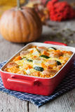 Casserole with vegetables and meat. 