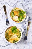 Casserole with zucchini Stock Photography